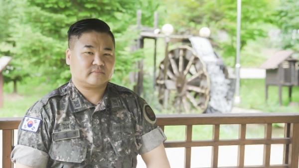 평소 봉사자의 삶이 즐겁다는 이대영 상사