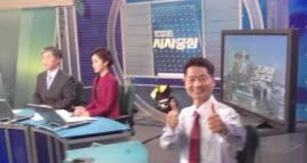 텔레비전 프로그램에 출연한 박재완 행복 코디네이터 책임교수