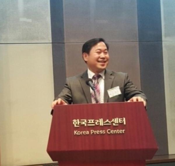 국제웰빙전문가협회 협회장 김용진 교수